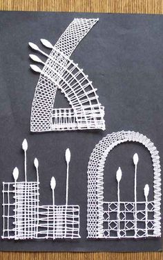 Bobbin Lace, Bruges, Tatting, Hair Accessories, Type, Pattern, Fun, Embroidery, Drawings