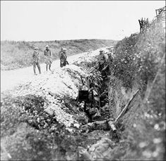 February 23 1916 day three of the battle of verdun french newfoundland soldiers in st johns road support trench july 1 1916 none was publicscrutiny Choice Image