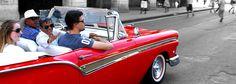 Havana city tours in old classic cars - #Cuba #oldcartours