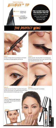 they're real! push-up liner Benefit Cosmetics