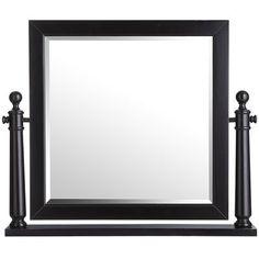 Ashworth Dresser & Mirror - Black - for the master bedroom - LOVE this!!
