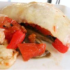 Grilled Portobello and Mozzarella Allrecipes.com