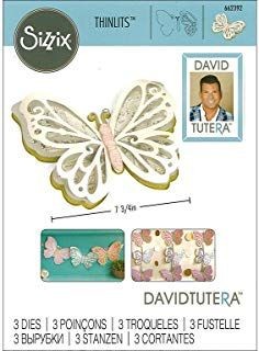 Dies .. to die for metal cutting craft die Butterfly Pop-up with wings