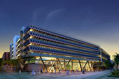Siemen's Middle East Headquarters Will Be An Energy Efficient Model for Masdar City | Inhabitat - Green Design, Innovation, Architecture, Green Building