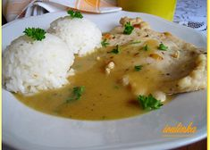 Czech Recipes, Ethnic Recipes, Good Food, Yummy Food, Easy Cooking, Bon Appetit, Poultry, Mashed Potatoes, Chicken Recipes