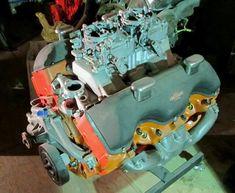 Rare Chevrolet 1963 Z11 engine.
