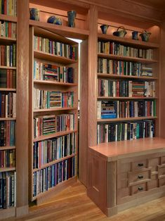 , Asian Home Office Decorating Ideas With Natural Color Wooden Library Book Shelves Also Antique Ornaments Also Natural Floorboards Color: Tremendous Home Office Ideas for Men