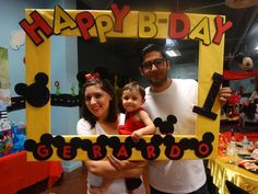 Photo 2 of 28: Mickey Mouse / Birthday Gerardo's first birthday! | Catch My Party