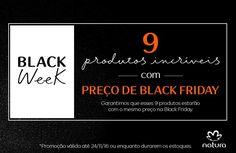 9 produtos natura com preço de Black Friday garantido na Rede Natura Espaço Carolina do Valle: http://rede.natura.net/espaco/carolinadovalle ! Até 50% de desconto! Promoção válida de 21 a 27/11, ou enquanto durarem os estoques. #Brasil #Natura #Promoção #Desconto #BlackFriday #RedeNaturaEspaçoCarolinadoValle #ComprarNatura #ComprarNaturaOnline #ConsultoraNaturaDigital #BlackWeek #BlackNovembro