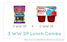 Weight Watcher Lunch Combo 31 - Meal Planning Mommies