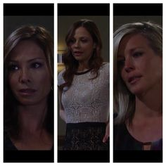 Carly was played by three different women growing up, and all of them played her strong, confident, intelligent, compassionate, and fearless.