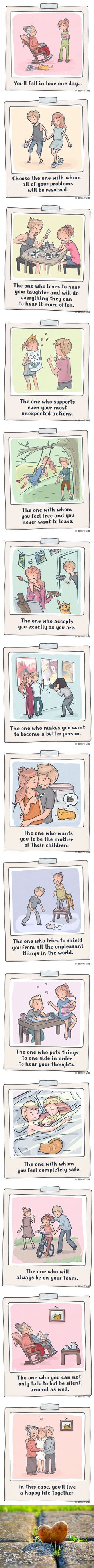 14 Charming Illustrations That Sum Up Perfectly What True Love Is