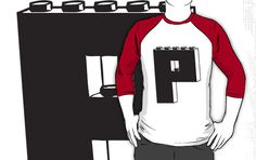 THE LETTER P by Customize My Minifig