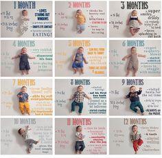 De geboorte van je kindje is een bijzonder moment. Je wil alles vastleggen maar hoe leg je het eerste jaar van je kind vast? Deze tips zijn super leuk!