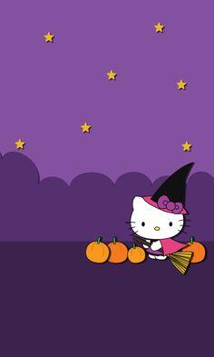 Hello kitty Halloween wallpapers | Blueberrythemes