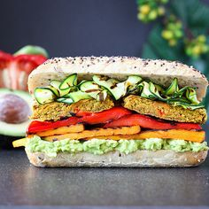 My love for curry spiced foods never ends! As does my love for grilled veggies! So darn good. So put it all together and you get this amazing sandwich.This rec
