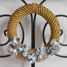 Věnec hnědý Grapevine Wreath, Grape Vines, Wreaths, Home Decor, Decoration Home, Door Wreaths, Room Decor, Vineyard Vines, Deco Mesh Wreaths