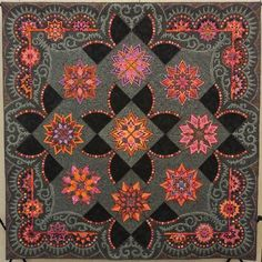 STARS ON MARS was made by Gail Stepanek and quilted by Jan Hutchison. Best of Show Lancaster, PA, 2015