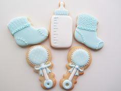 Nye baby, babyshower, lille dreng, barnedåb, småkager, fest, Lille Kage Hus, Danmark