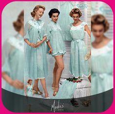 50'lerin gecelik modası halen ilginizi çekiyor mu? :)