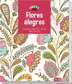 Arte-Terapia: Flores alegres