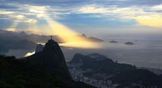 A city protected by Christ, the Redeemer, and by God, so it looks...