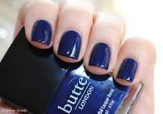 Mirma Natalia: Butter London Royal Navy