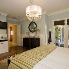 bedroom on pinterest wainscoting master bedrooms and dark wood