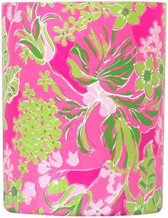 34ccbabaea72a4 Lilly Pulitzer Glass Candle, Luscious Glass Candle, Lilly Pulitzer, My  Room, Cool