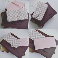 Louis Vuitton Pochette Felicie Damier Azure