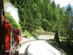 Schafberg train in Austria Austria, Notes, Train, Spaces, Outdoor, Outdoors, Outdoor Games, Outdoor Living, Strollers