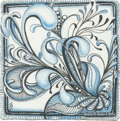 Mooka Blues Series by Sharla R. Hicks Certified Zentangle Teacher
