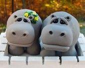 Items similar to Hippo LOVE on Etsy