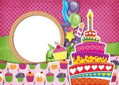 Marcos para decorar fotos de cumpleaños