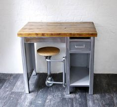 1960s Industrial Steel Desk - Bring It On Home