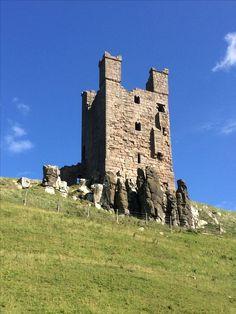 Dunstanburgh Castle's Lilburn Tower