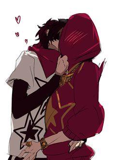 Got your heart, Akechi ' v ' +*