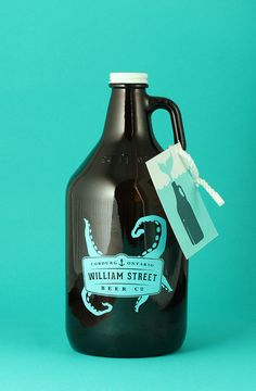 William Street Beer Co. growler design
