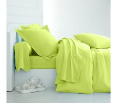 Jednofarebná posteľná bielizeň, polycoton zn. Colombine   blancheporte.sk #blancheporte #blancheporteSK #blancheporte_sk #bedlinen Bed Pillows, Pillow Cases, Pillows