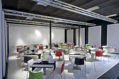Open Space. Photo set. Plató Restaurant a Barcelona. FFWD Arquitectes www.ffwd.es