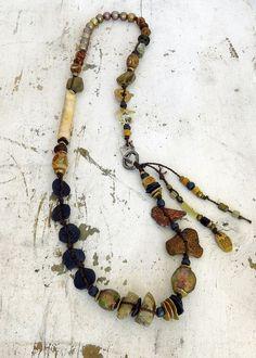 One-of-a-kind Dragonskin Steel Tribal Treasure; Kathy Van Kleeck
