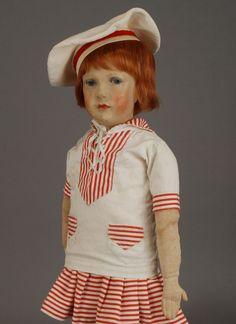 Sailor, The Past, German, Dolls, Children, Vintage, Style, Fashion, Antique Dolls