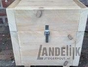 Steigerhouten cadeau box
