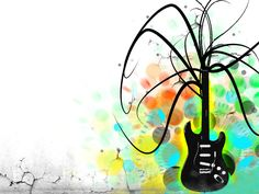 Music Electric Guitar Art Desktop Wallpaper Normal