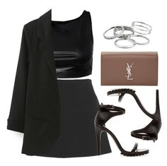 """Style #11573"" by vany-alvarado ❤ liked on Polyvore featuring Marni, Sally&Circle, Zara, Yves Saint Laurent and Kendra Scott"