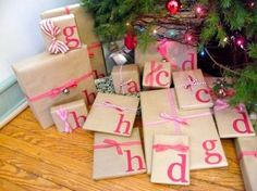 Christmas Gift Wrapping Ideas and Inspiration