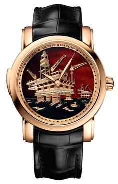 In a homage to the oil industry, the Ulysse Nardin North Sea Minute Repeater  marks the latest addition to the unique timepieces in the Classic ... 93770aaa88c