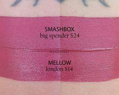 Smashbox Big Spender = Mellow London #dupe