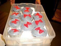 Pee Wee Herman cupcakes! Ahhh!