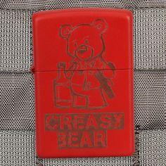 Must buy this!! -Violent little machine shop Creasy bear zippo lighter
